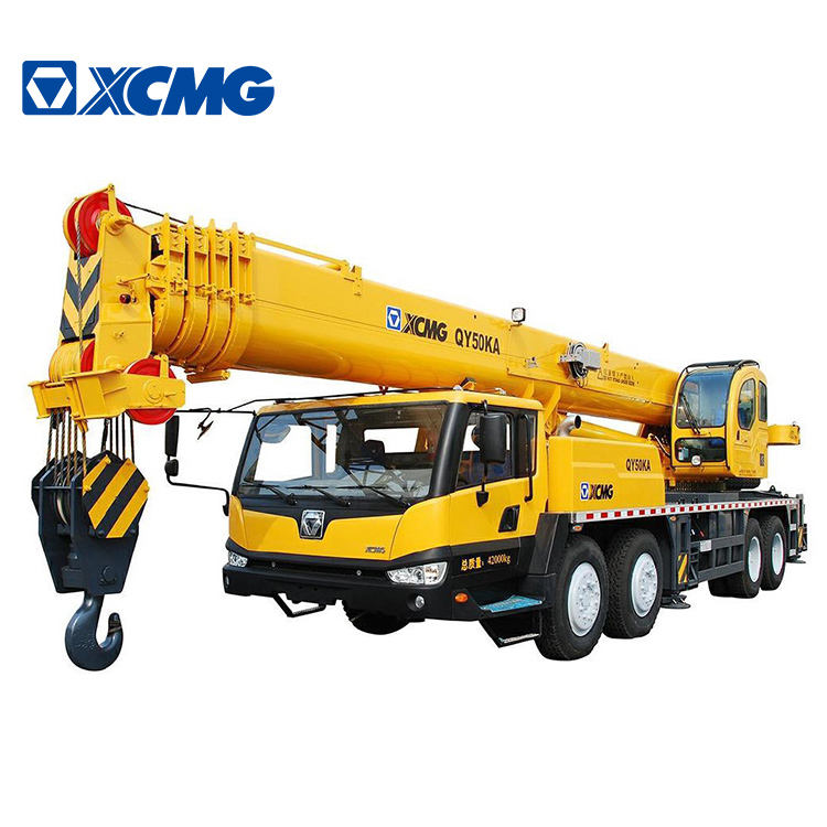 XCMG Official QY50KA 50 ton hydraulic boom arm truck mounted crane for sell