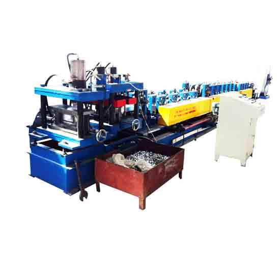 Fabriek hoge precisie c z gording verwisselbare roll forming machine/metalen studding roll forming machine