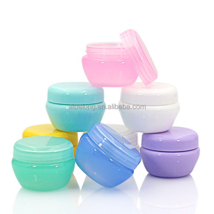 IBELONG hot sale 5g 10g 20g 30g 50g cheap small empty cosmetic pp plastic cream jar