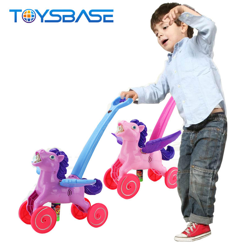 Interesting Kids Bubble Machine Toy Horse Style Bubble Guns For Kids