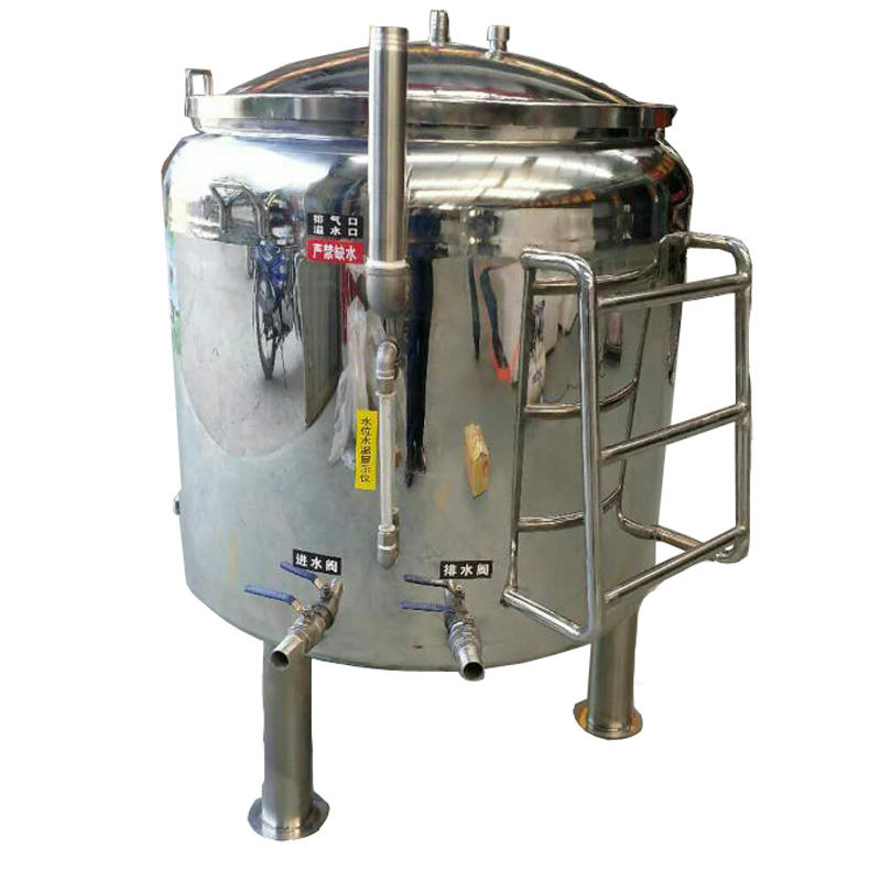 200L all stainless steel milk pasteurization equipment