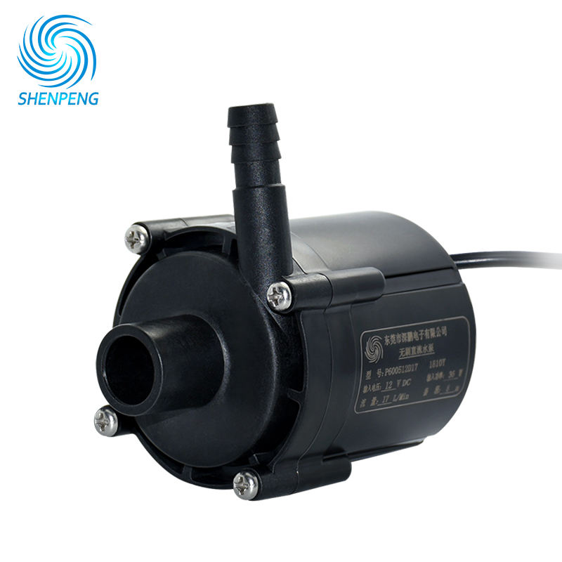 12v 24v Mini DC Recirculation Coolant Pump With Flow 20LPM