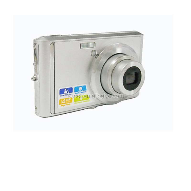"14 mega pixels Digital Camera made in China with 2.7"" display 4x digital zoom lithium battery DC-K709C"