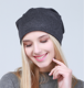 Hot sales fashion winter turban hat girls fancy winter knitted hats
