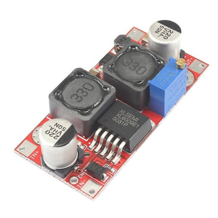 XL6009 Boost Converter Step Up Adjustable 20W 5~32V to 5~50V DC-DC Power Supply Module