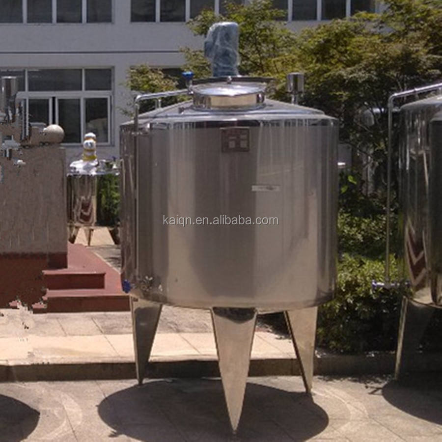 Dairy Processing Machines Milk Tank Milk Production Line