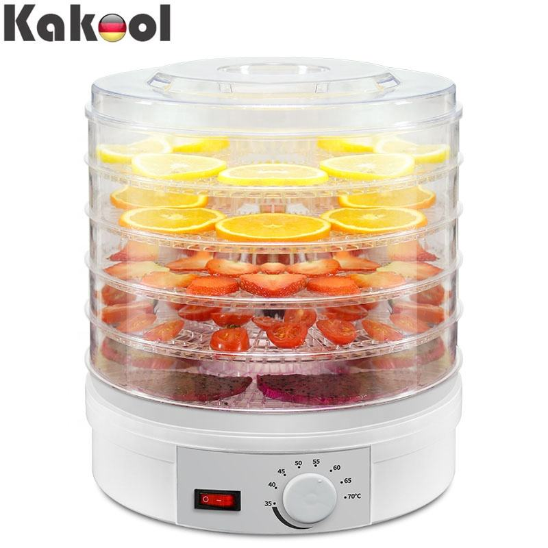 Factory Direct Adjustable Thermostat BPA Free Portable Electric small mini Fruit 220V Food Dehydrator Machine