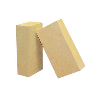 standard size of refractory high alumina al2o3 fire resistant brick used for fireplaces with cheap price