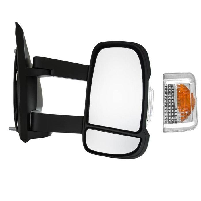 Drivers side Off 735539384 Genuine Fiat Grande Punto wing mirror cover