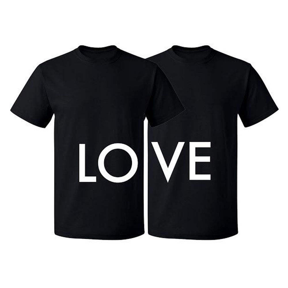 Couple Matching T-shirt Love Tshirt Valentines Day Couple Shirts