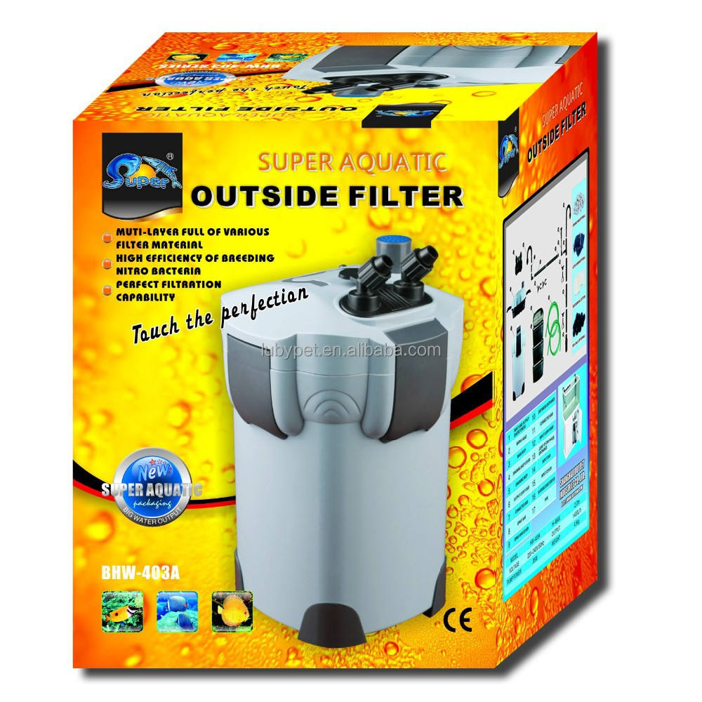 2015 new Super Aquatic fish tank Outside external Filter for aquarium,with special filtration system and UV light