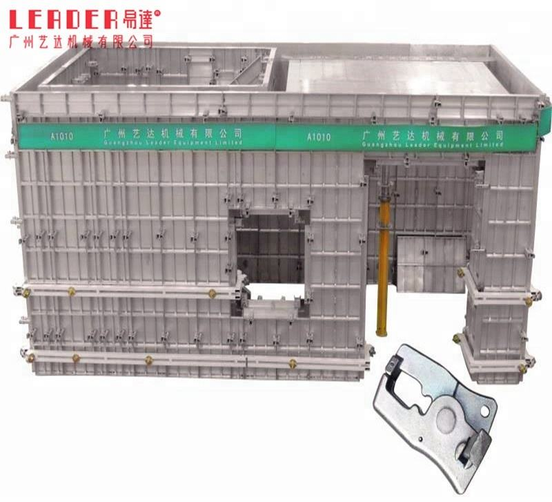 Leader SGF high quality modular recycling aluminum concrete construction formwork system