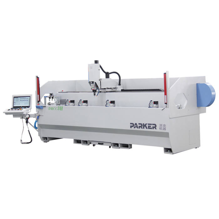 aluminium PARKER cnc milling drilling tapping machine center