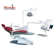 2018 CE certificate upgrade model dental chair MX-A53 dental unit with top mounted tool tray