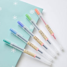 Chinese wholesale artist creative stationery products  stylish color glitter gel pen school stationery items list