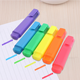 Non toxic rainbow multi colors highlighter pen set for school office
