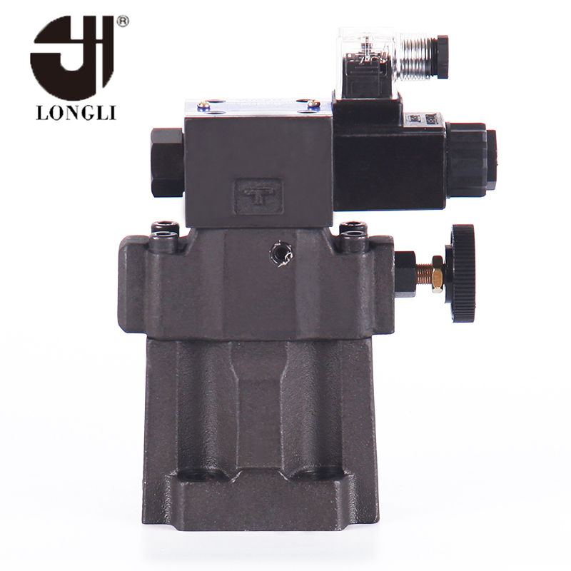 S-BSG-03 Hydraulic Yuken type low noise type solenoid pilot operated relief valve