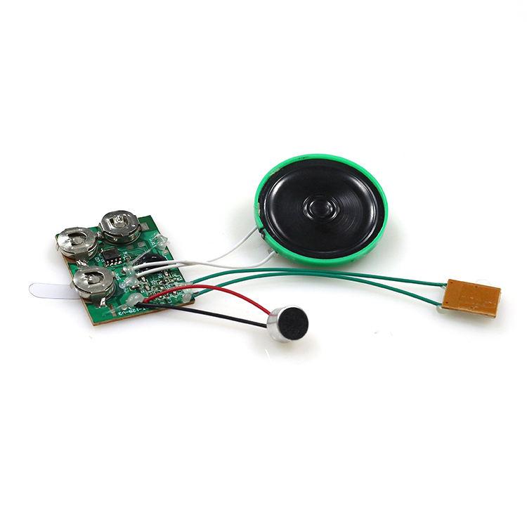 Módulo de sonido con sensor de movimiento grabación Módulo de grabación de voz de clip