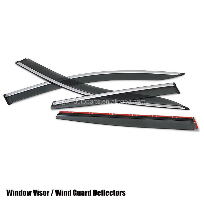For Nissan Skyline R32 GTR GTS Carbon Fiber Rain Window Deflector Visor Add on