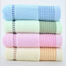 factory stock top grade colored thicken 100% cotton face hand towel
