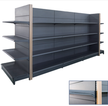 Convenience Store gondola shelving display stand shelf design equipment supermarket