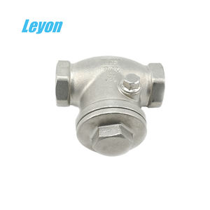 Promotion hot water female 316 stainless steel wcb swing check valve