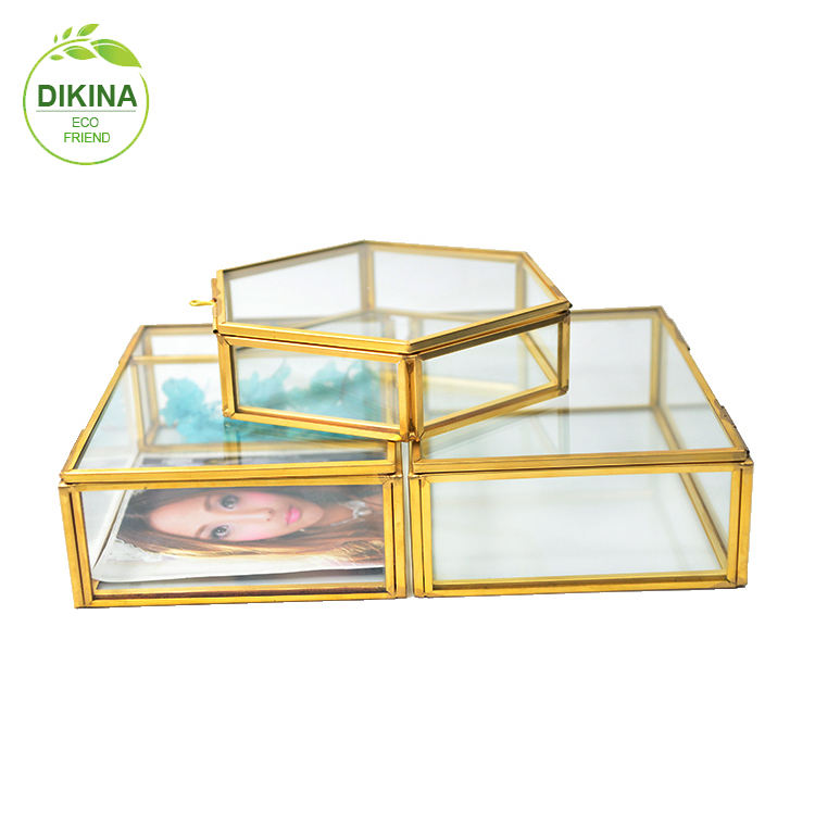 @:: >> 2019 home decoration metal bread jewelry display case , flower stand centerpieces, wedding favors acrylic cosmetic jar