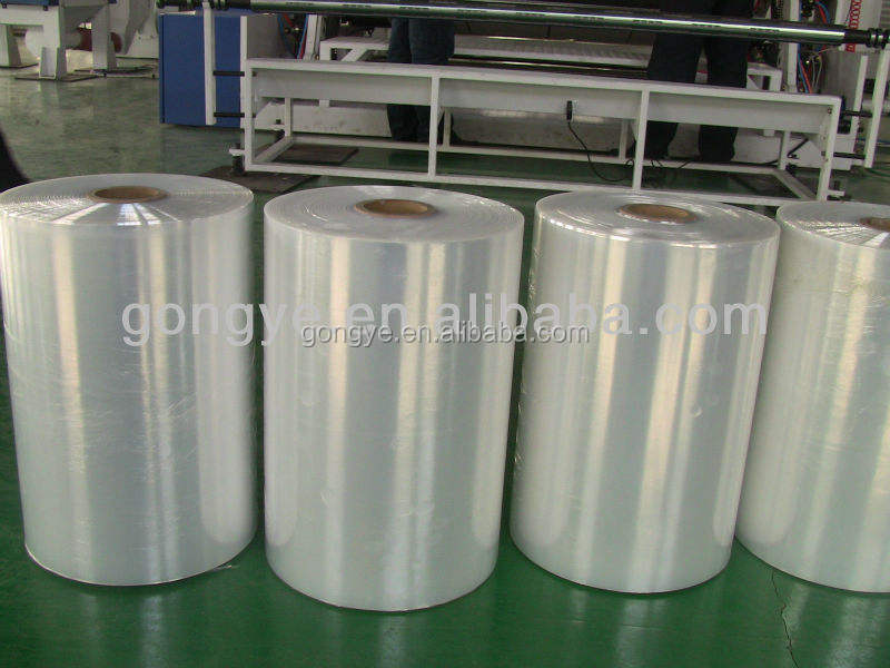 High quality LLDPE transparent cast max stretch film