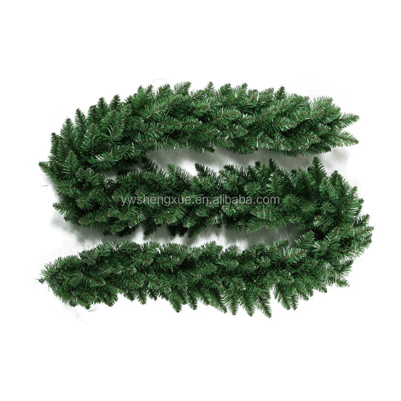2016 New Green Artificial pvc Christmas Garland