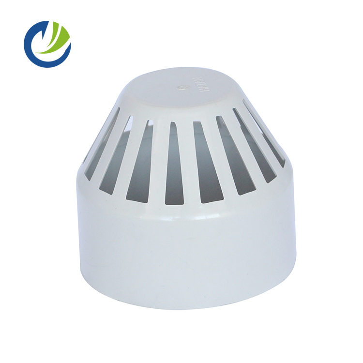 china low price products underground large plastic pvc drainage pipes GB standard vent cap