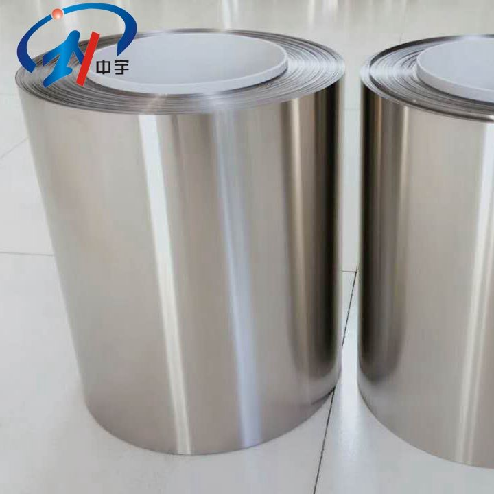 High Purity industrial 0.01mm ultra-thin titanium foil price