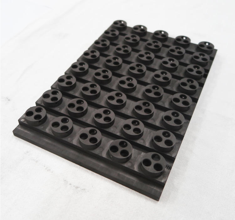 High Purity Graphite/Carbon mold / fixture for Semiconductor Encapsulations