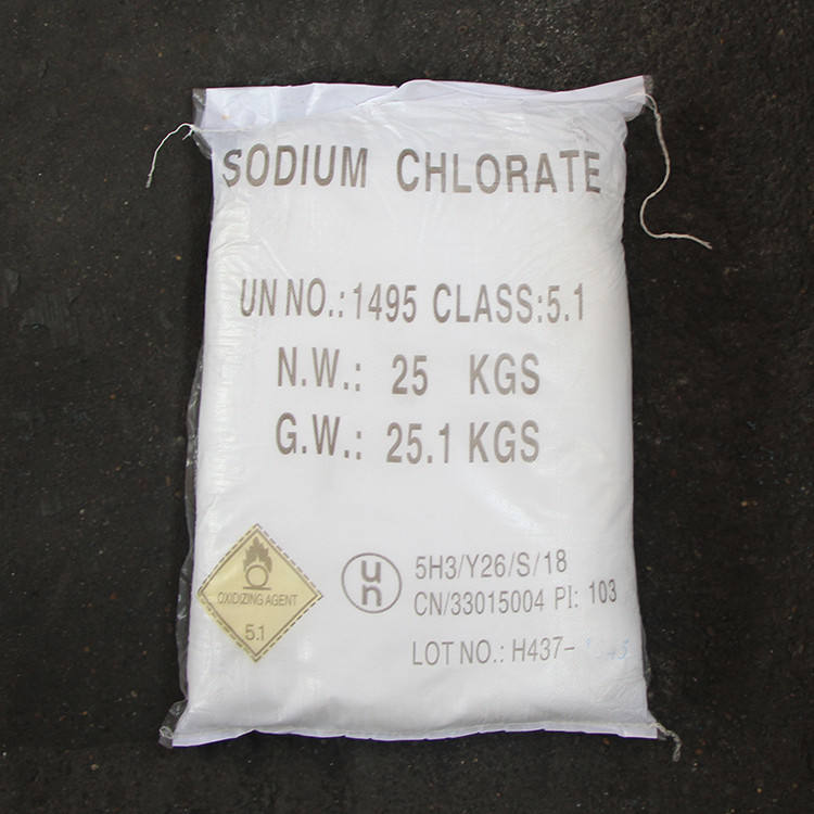 Buy factory producer supply 99.5%min naclo3 sodium chlorate price for weed killer use