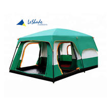 outdoor waterproof camping party canvas cotton tent 5-10 person family