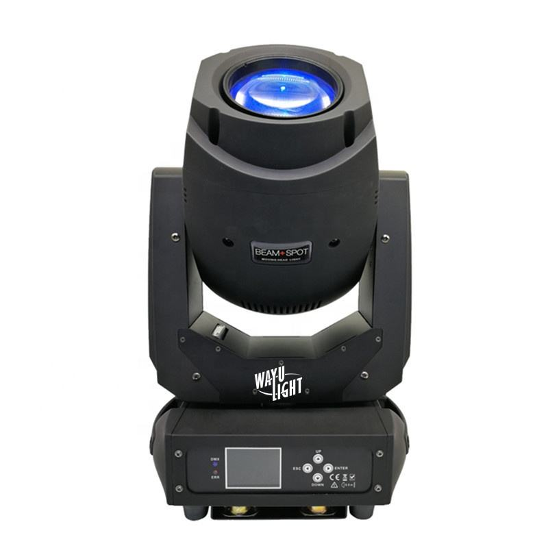 NewComer 200 วัตต์ 200 วัตต์ Pro STAGE DISCO DJ Night Club Light หมุน Gobos Sharpy Beam Spot 2in1 HYBRID 200 W LED Moving Head