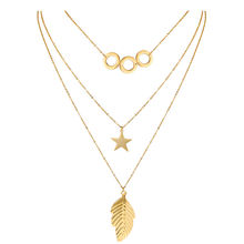 Xuping fashion 18k gold plated jewelry custom necklace, new designs pendant necklace, set jewellery choker necklace