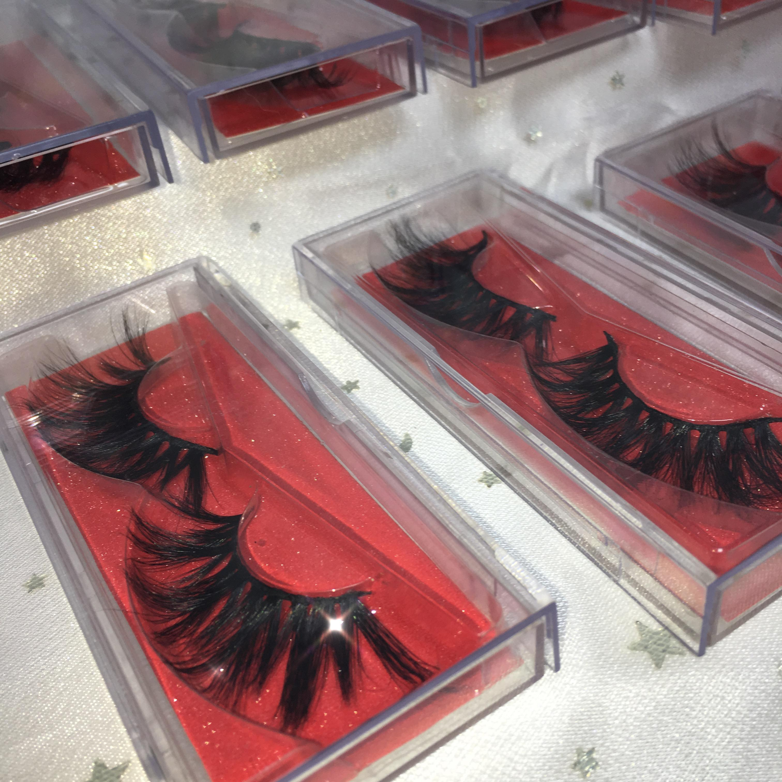 Best Sales 25mm Eyelashes 3D Mink Eyelashes Vendor