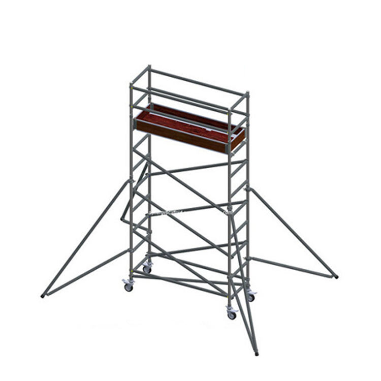 Multi-Use Aluminum Mobile Scaffolding Tower with Ladder
