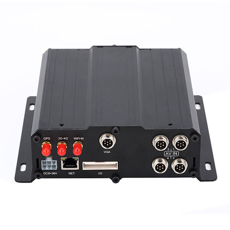 GPS Vehicle Mobile DVR H.265 HDD 8 Channel 4G 1080p MDVR