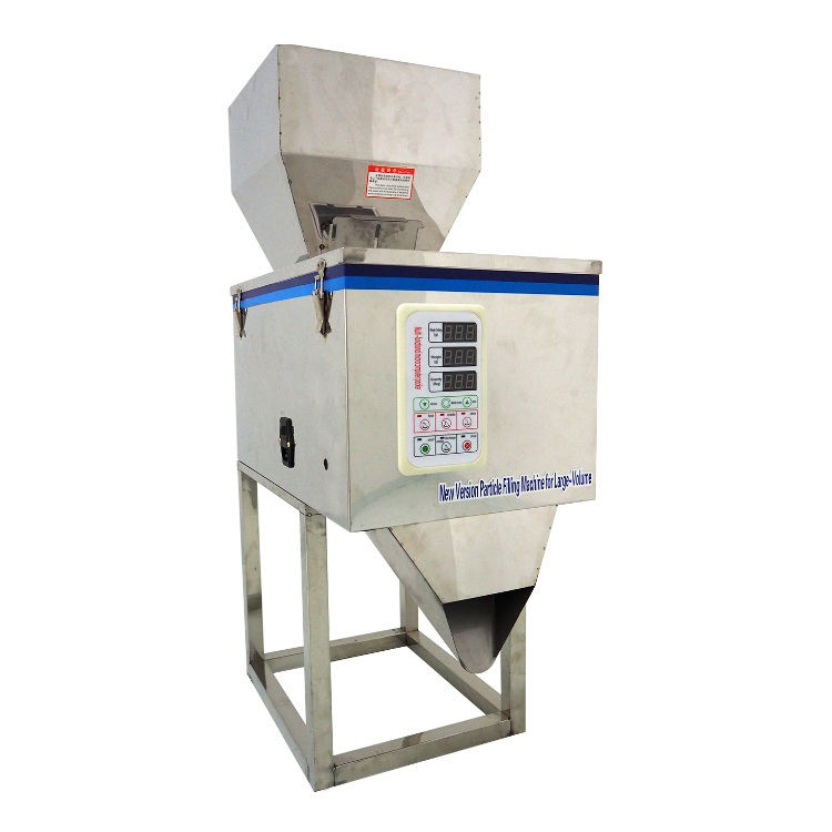 The latest 999g Automatic Filling Machine and Powder Particle Weighing for Sugar Grain Powder