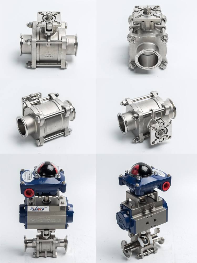 316 Stainless Steel Electric Welded Ball Valve