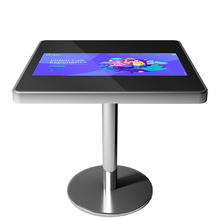 HD 1080P LCD interactive smart multi touch screen coffee table for restaurant