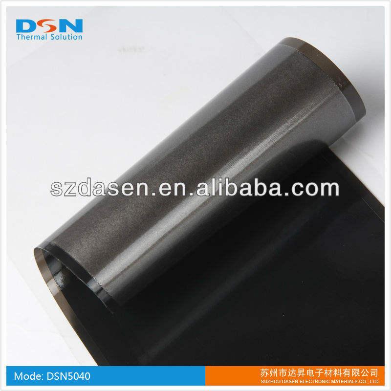 0.025mm pgs filme de grafite para laptop dissipação de calor( naked; com o filme de pet, ou adesivo, ou ambos)