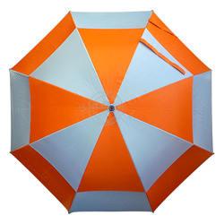 Full body large size gold umbrella double canopy UV protection sports umbrella