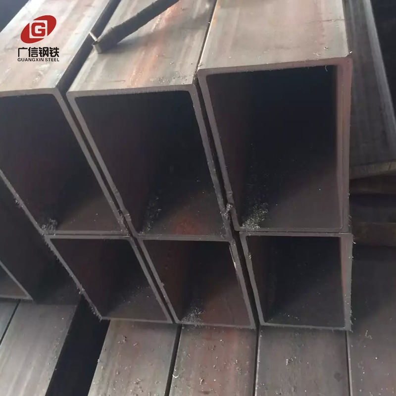 Rhs section sa106b seamless carbon rectangular hollow steel profile steel pipe