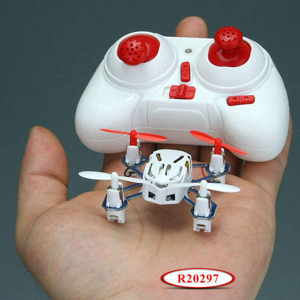 Mini Quadcopter De Commande Radio 2.4g 4-ch RC. Quadcopter Avec 6- axes Gyro R20297
