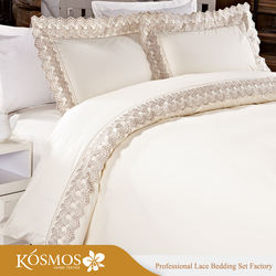 KOSMOS Bedding Polycotton Embroidery Lace Bedsheets Yiwu Bed