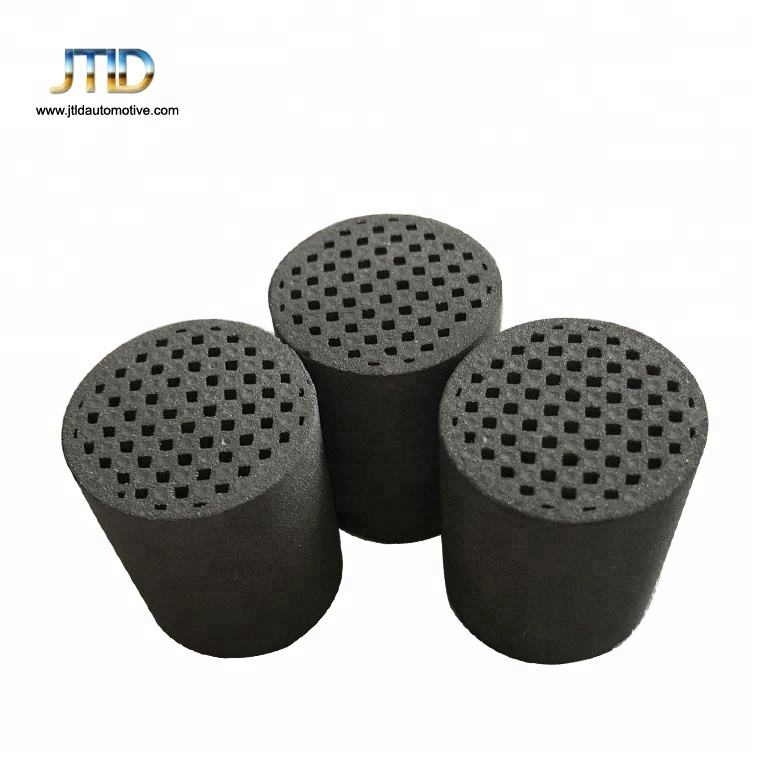 DPF style honeycomb metallic substrates carrier for catalytic converter