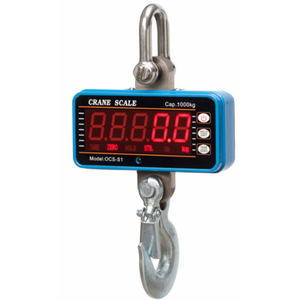 J&R Digital Hook Type Water Proof Weight Hanging Crane Scale 1 Ton