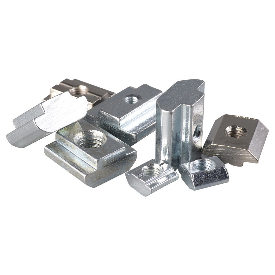 Square Slide-in T-slot Nuts Connected To Aluminum Profiles High Quality T Nut